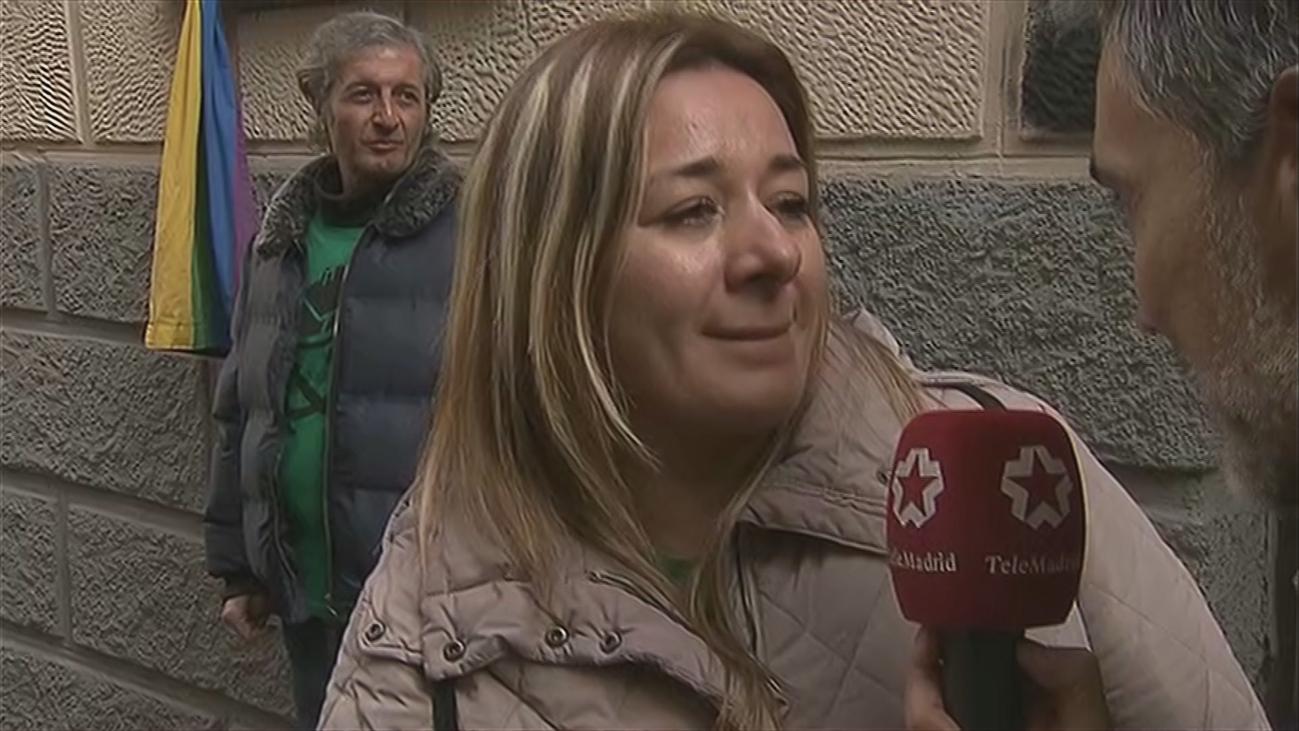 Paralizado y sin fecha el desahucio de Nancy en Puente de Vallecas