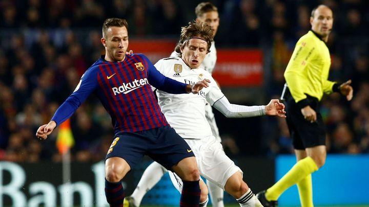 1-1. El clásico de Copa se decidirá en el Bernabéu