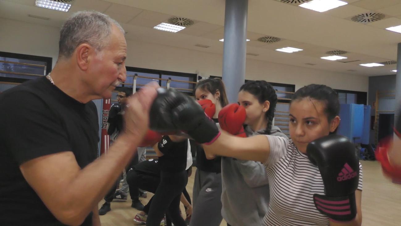 El boxeo sin contacto causa furor en Madrid