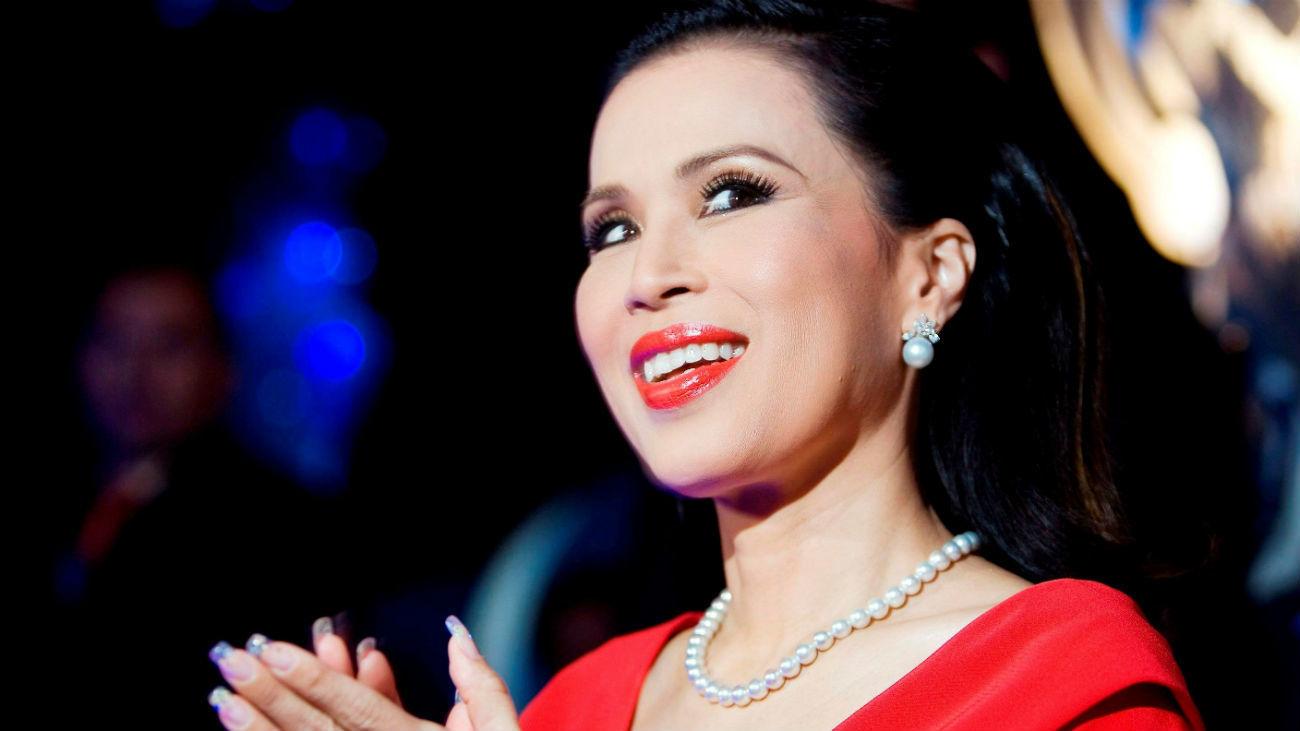 Fotografía de archivo que muestra a la princesa Ubolratana Mahidol de Tailandia
