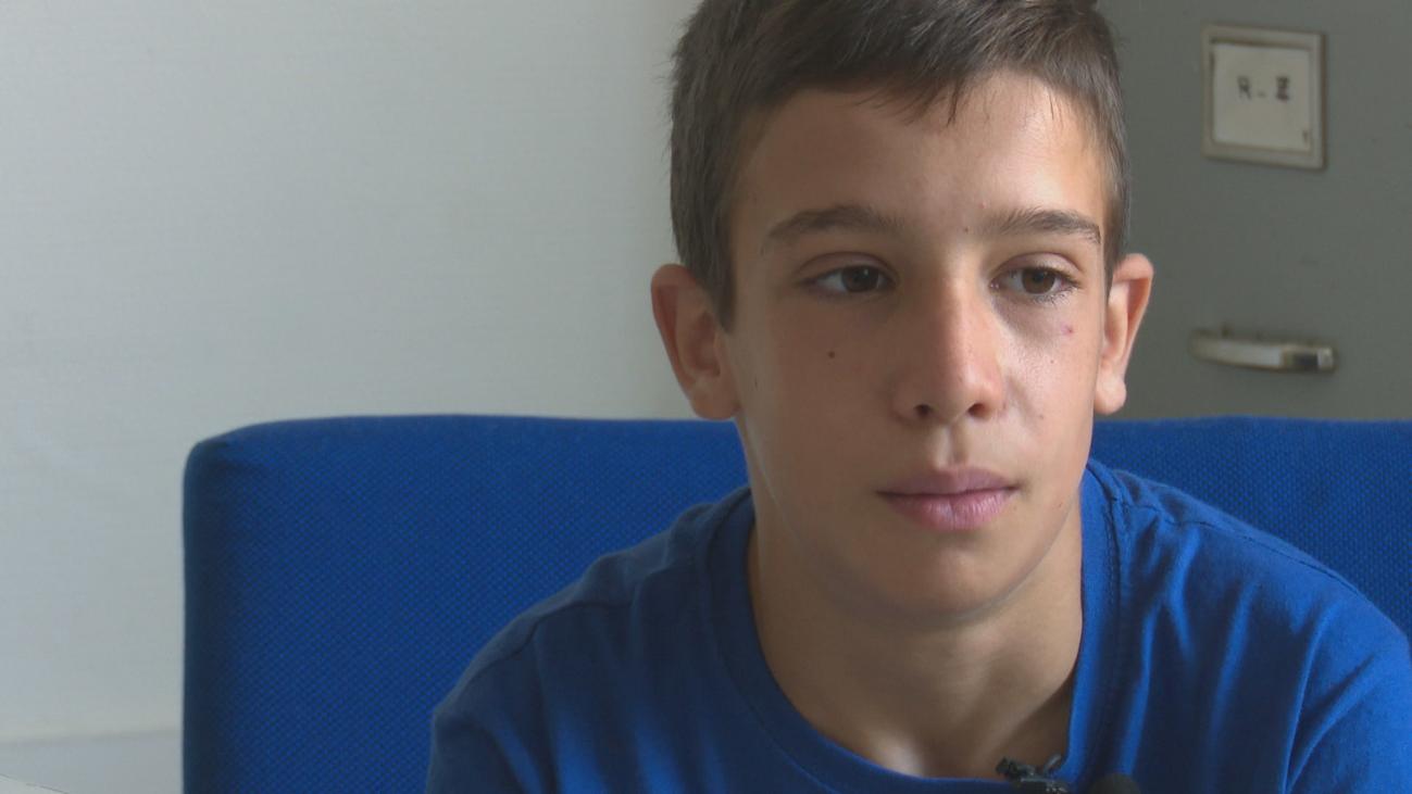 La historia de Rodrigo: un niño de 11 años trasplantado de 5 órganos