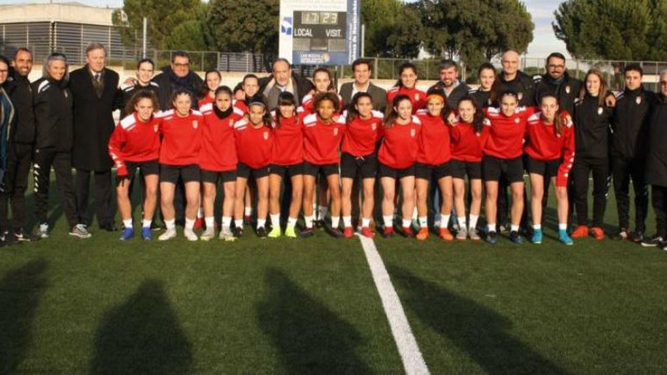 La cantera del fútbol femenino madrileño