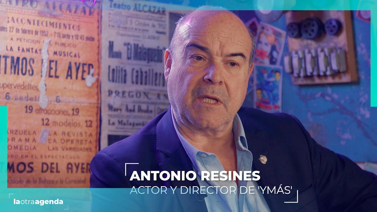 """Antonio Resines ofrece """"un paso más"""" para la cultura"""