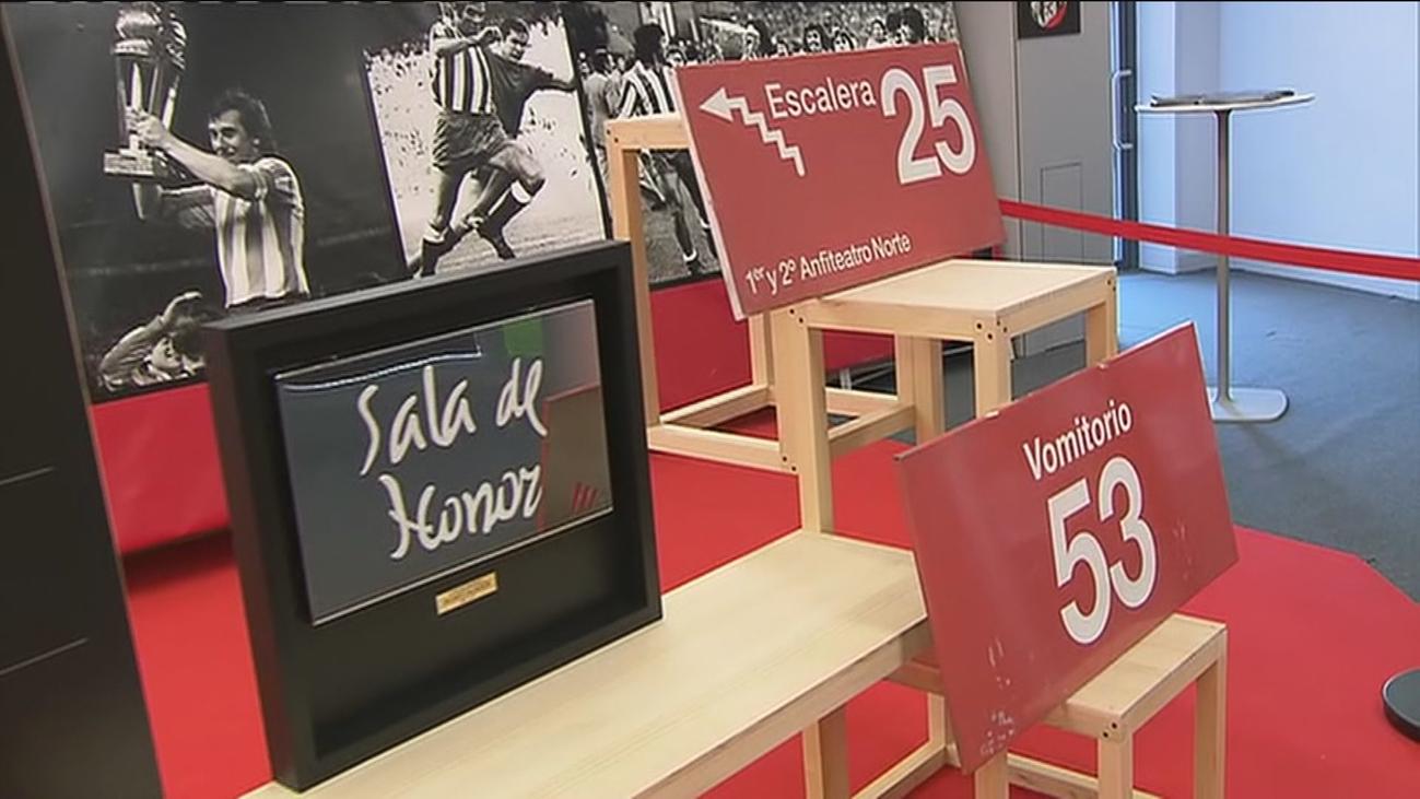 El Atlético de Madrid subasta los recuerdos del Calderón