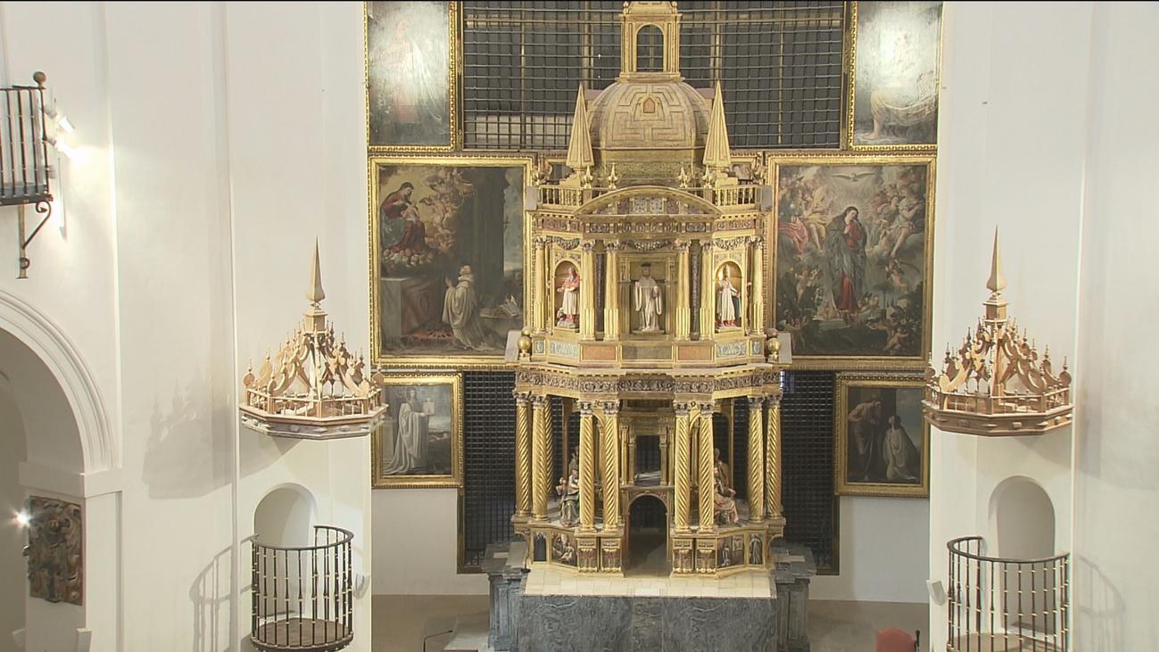 Acaban en Alcalá las obras de restauración de la Iglesia Santa María la Mayor