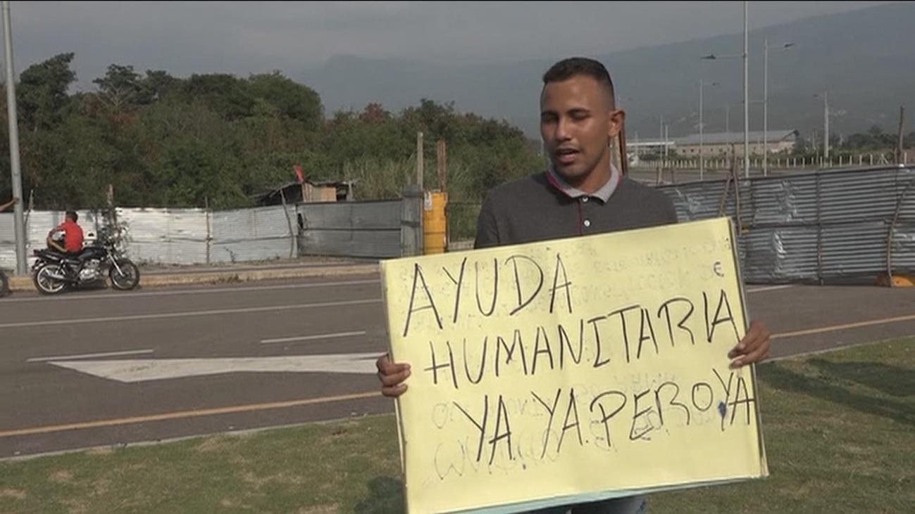 La oposición venezolana dispuesta a buscar en las fronteras la ayuda humanitaria