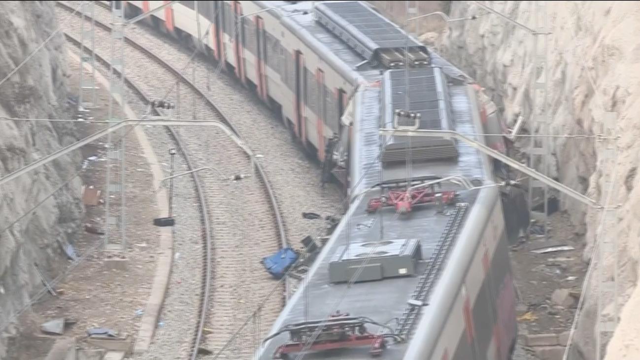 Muere la conductora de uno de los trenes accidentados en Barcelona