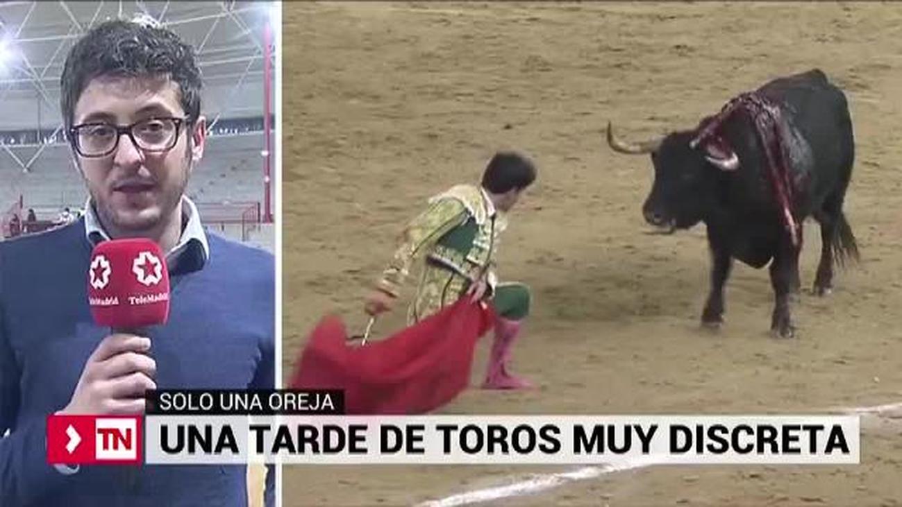 Tarde de toros muy discreta en la segunda de Valdemorillo