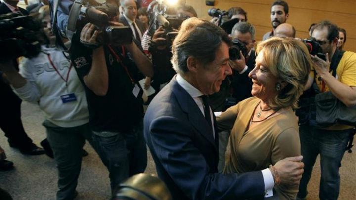Aguirre y González, citados este lunes en el juicio del espionaje a cargos del PP