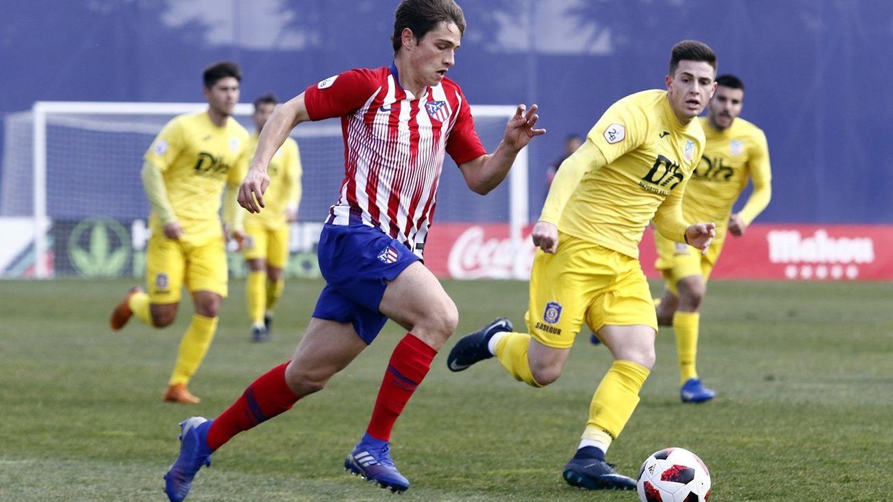 3-0. Gran triunfo del Atlético B ante el Navalcarnero