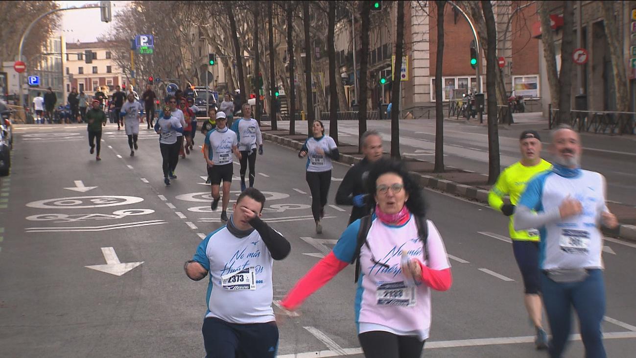 1.500 corredores en Madrid por los huérfanos de la violencia machista