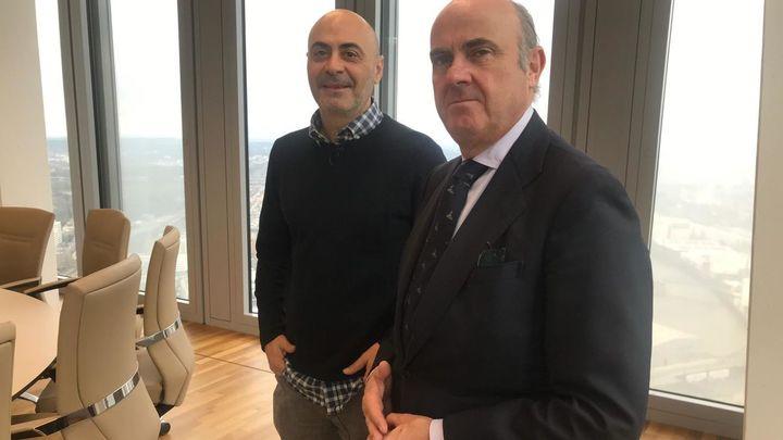 Luis de Guindos nos enseña la sede del Banco Central Europea en 'Madrileños por el Mundo'