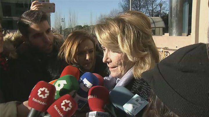 La Fiscalía pide imputar  a las expresidentas Aguirre y Cifuentes en el 'caso Púnica'