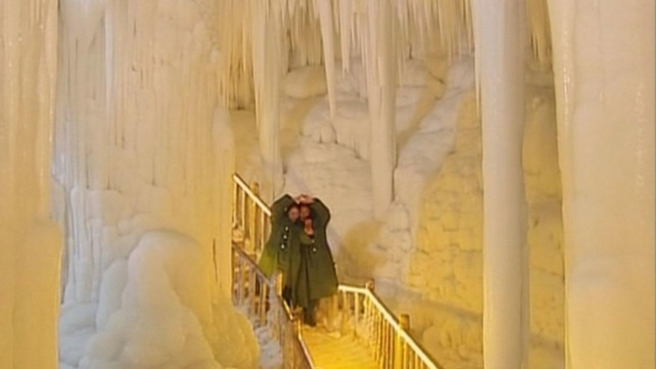 Unas cuevas muy peculiares