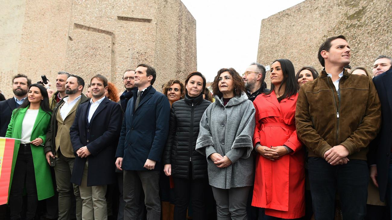PP, Ciudadanos, Vox y la foto de la polémica en Colón