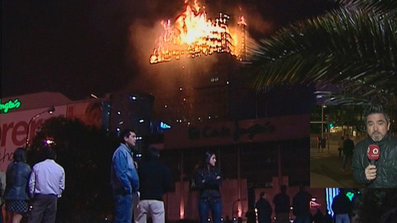 El incendio de la Torre Windsor fue provocado, según Moncloa.com