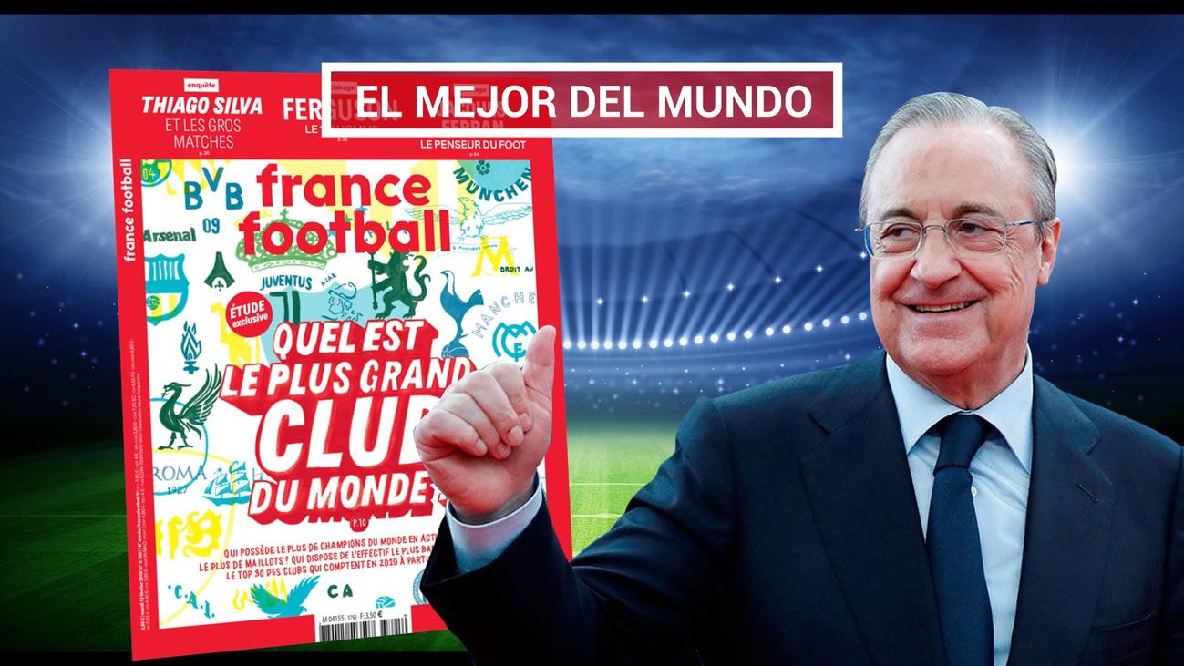 El Real Madrid, el club más grande de la historia para France Football