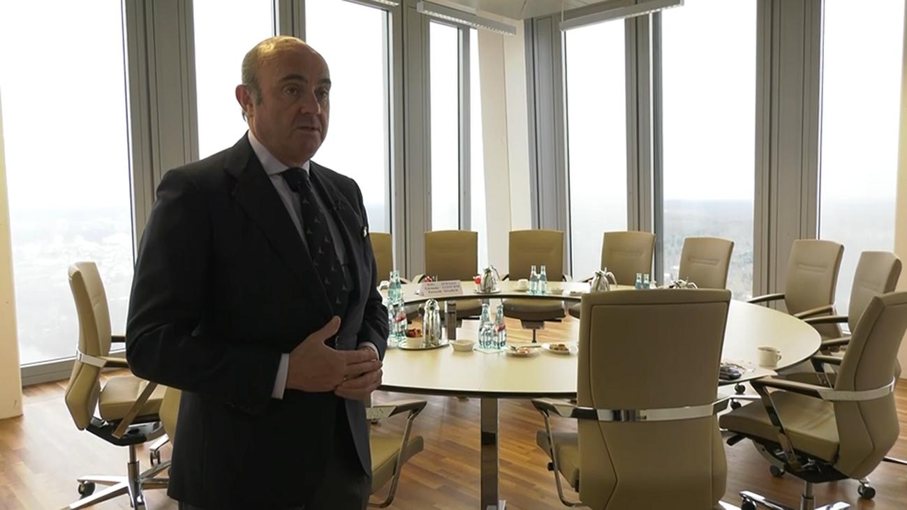 Luis de Guindos nos enseña el Banco Central Europeo