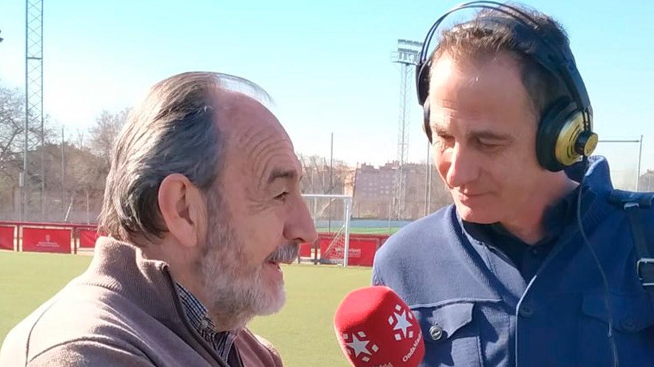 El Partido de la Una emite desde los campos de fútbol de la Federación Madrileña