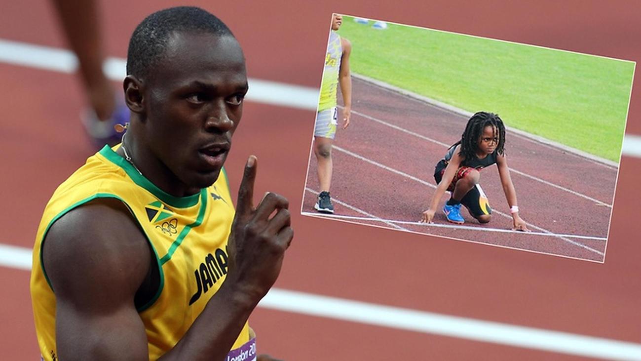Rudolph Ingram, el Bolt de 7 años