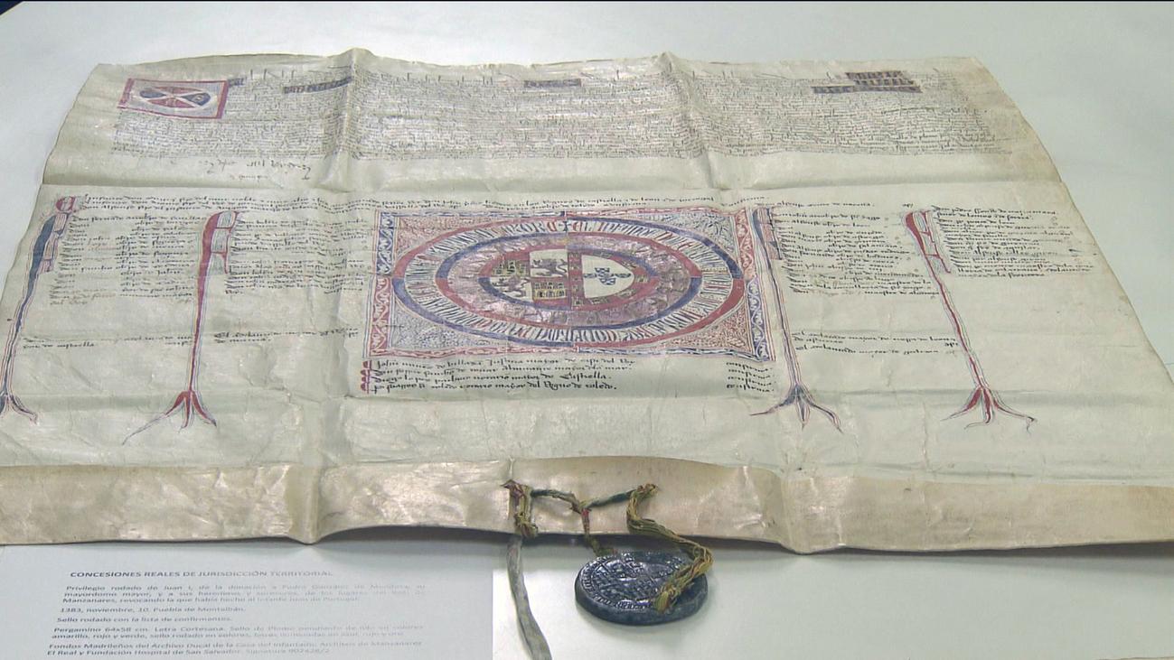 Ya puedes acceder a documentos históricos de Madrid de hace casi 700 años