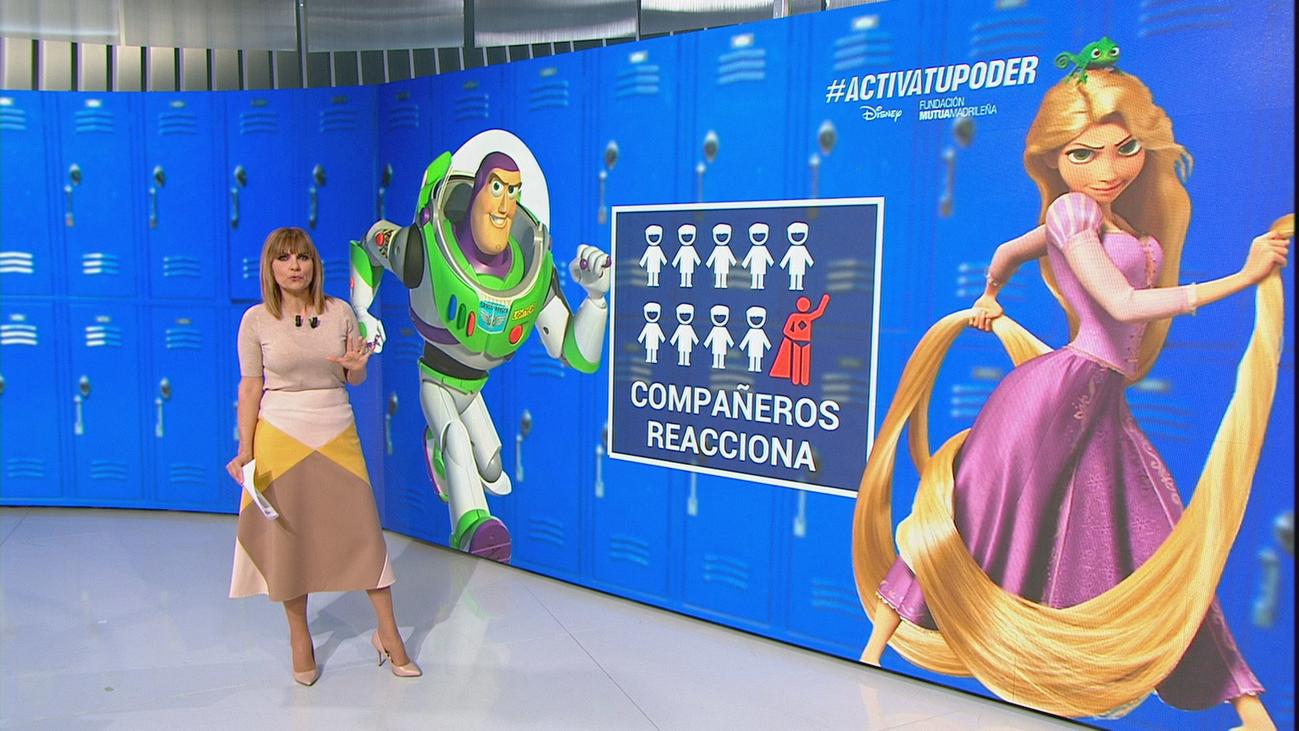 Personajes animados inspiran a los niños a actuar contra el acoso