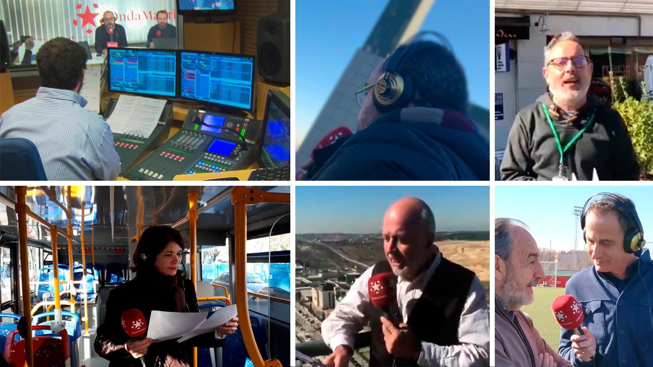 Onda Madrid y los madrileños ofrecen su sentido homenaje a la radio