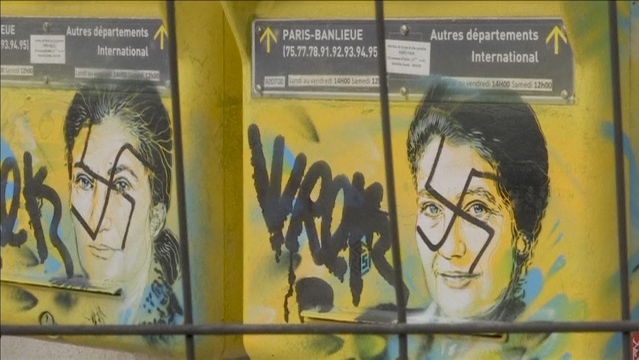 Los actos antisemitas se dispararon un 74% en Francia en 2018