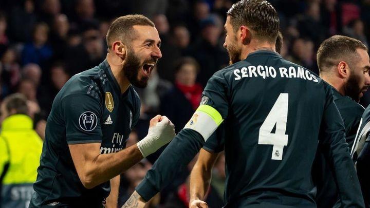 1-2. El Real Madrid deja en Amsterdam la eliminatoria encarrilada
