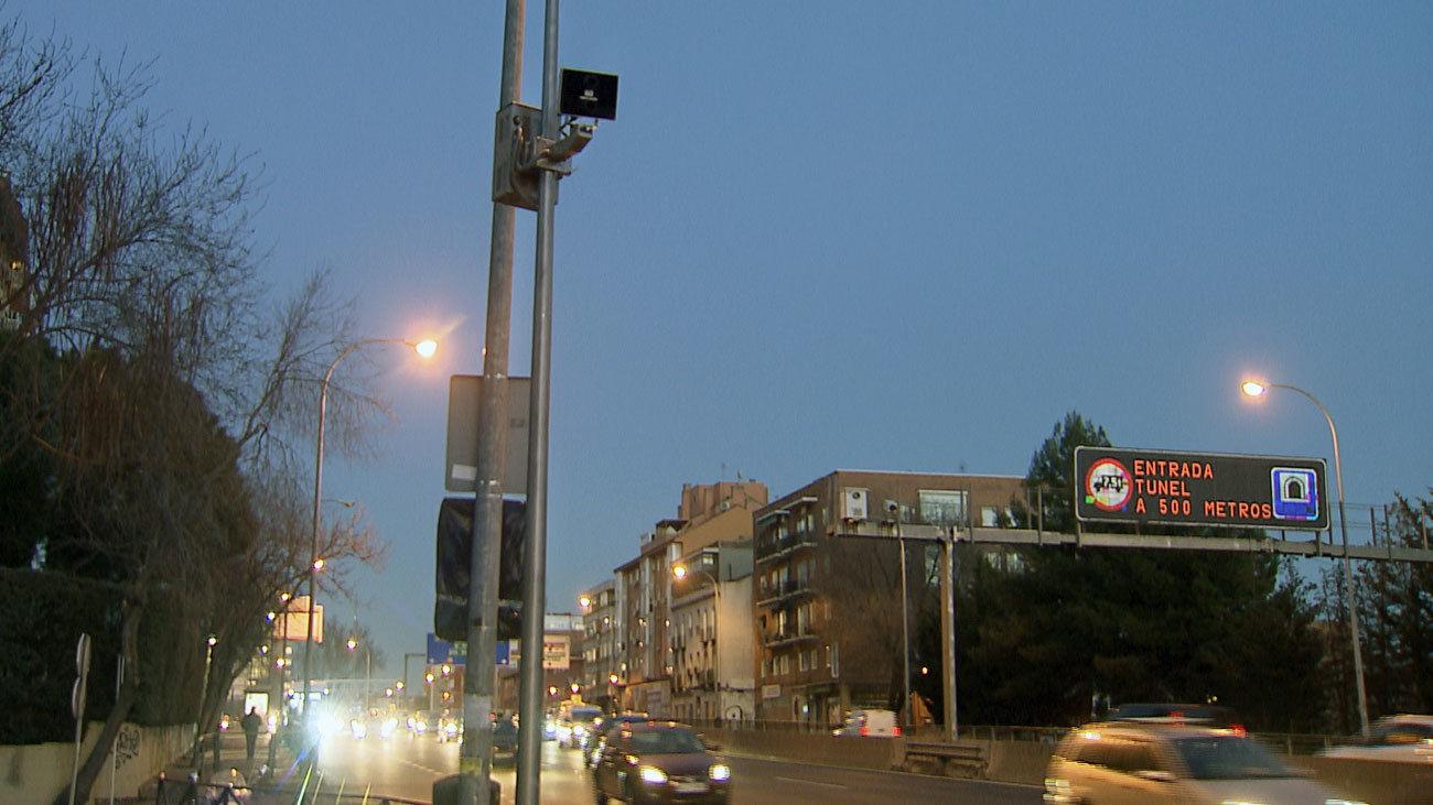 El radar de tramo de la A-5,a la altura de Batán,es el que más multas pone en Madrid