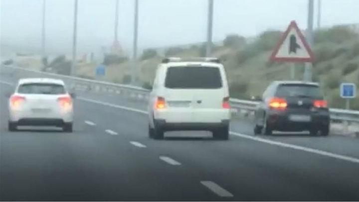 Detenidos dos conductores que circulaban a gran velocidad por la M-40