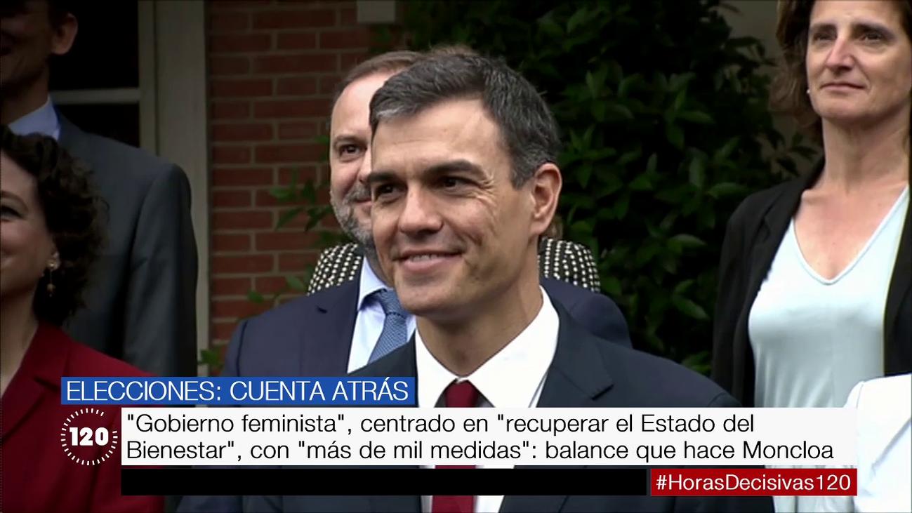 Los ocho meses de Pedro Sánchez en La Moncloa