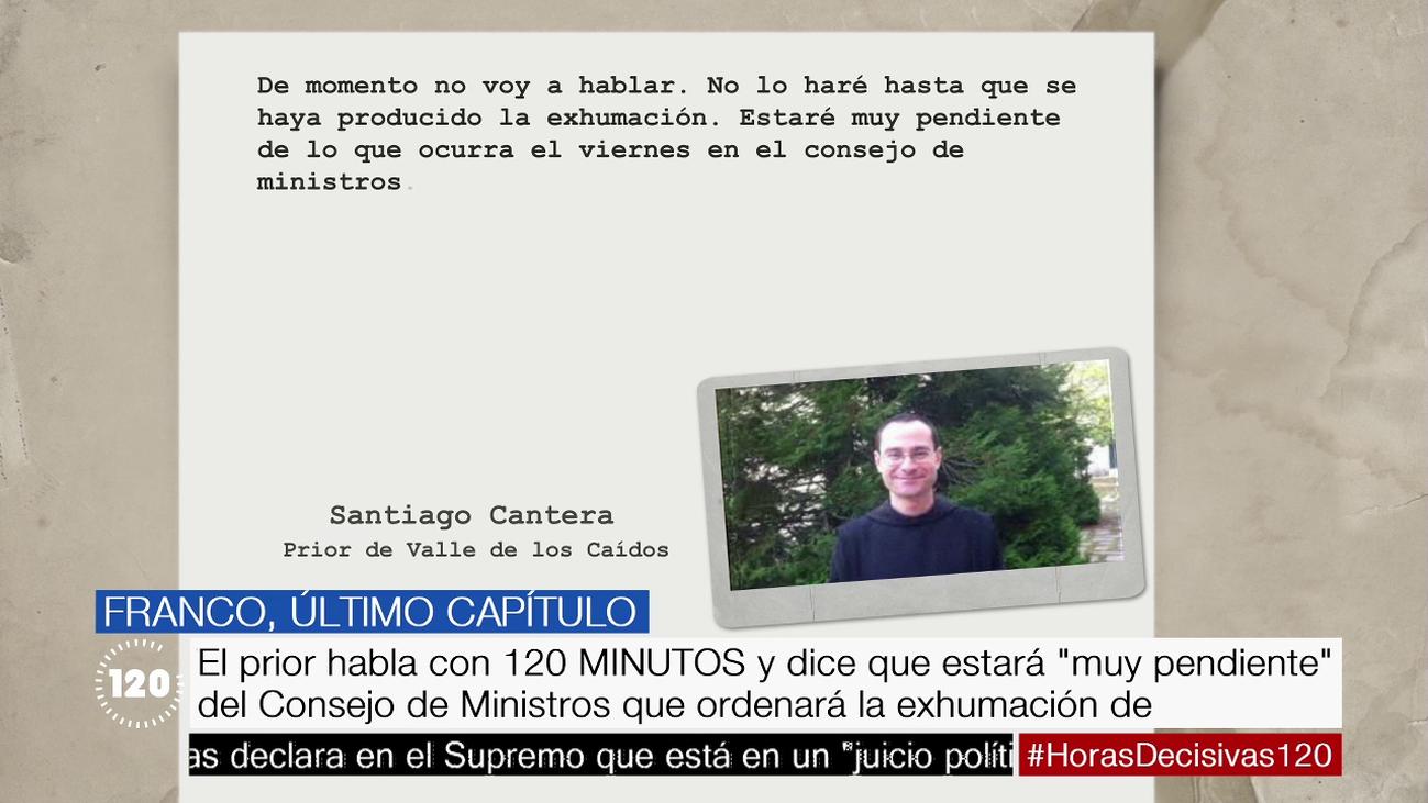 ¿Permitirá el prior la exhumación de Franco si el Supremo no lo suspende?