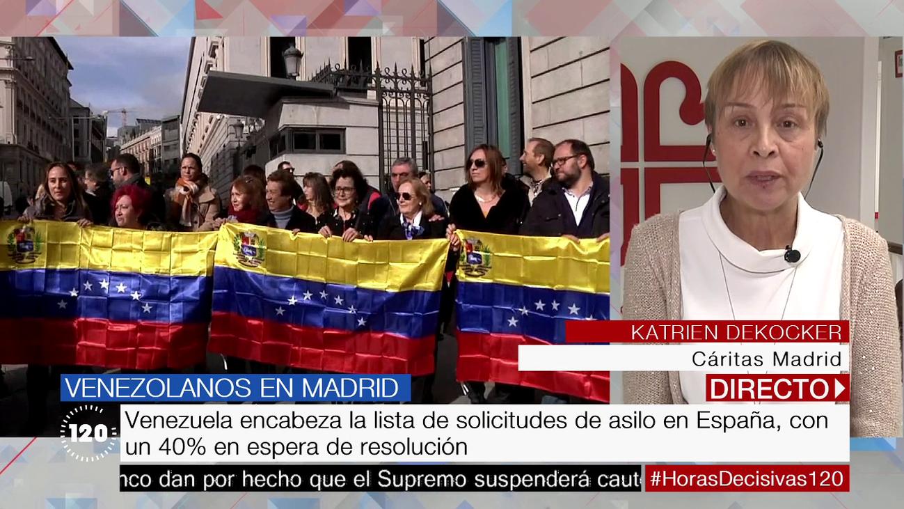 La población venezolana, la que más ha crecido en la demanda de ayuda a Cáritas Madrid