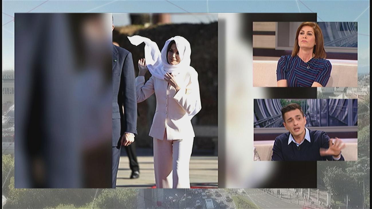 El llamativo vestuario de la reina Letizia en Marruecos