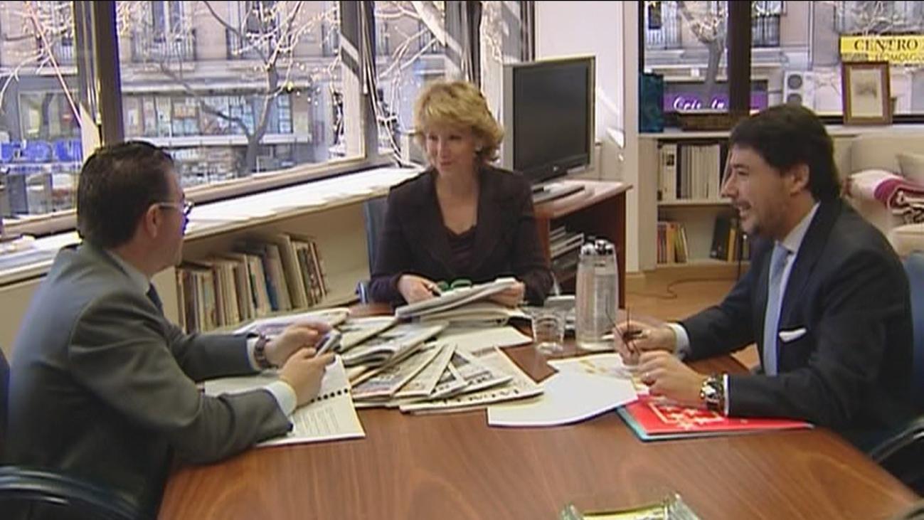 La Comisión de corrupción de la Asamblea responsabiliza a Aguirre, González y Granados