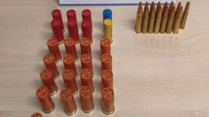 Requisan munición de distinto calibre a un ciudadano sin licencia o autorización en El Encinar