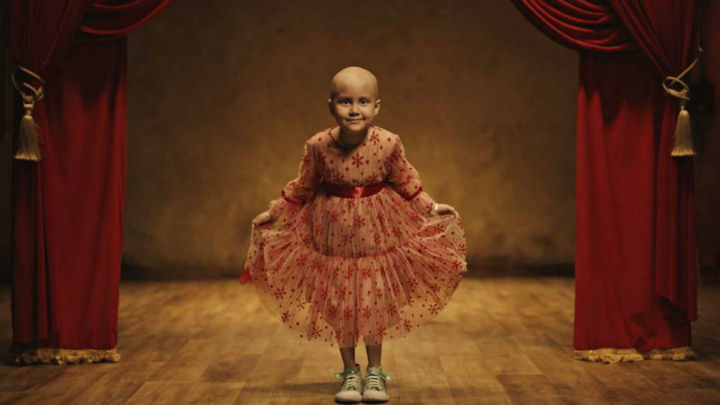 Un aplauso para los niños con cáncer