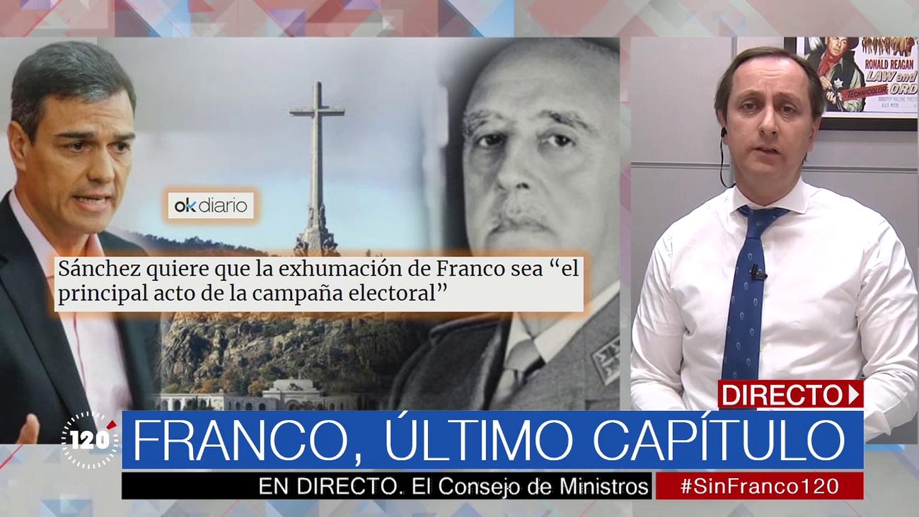 Sánchez podría llegar a las elecciones del 28-A sin exhumar a Franco
