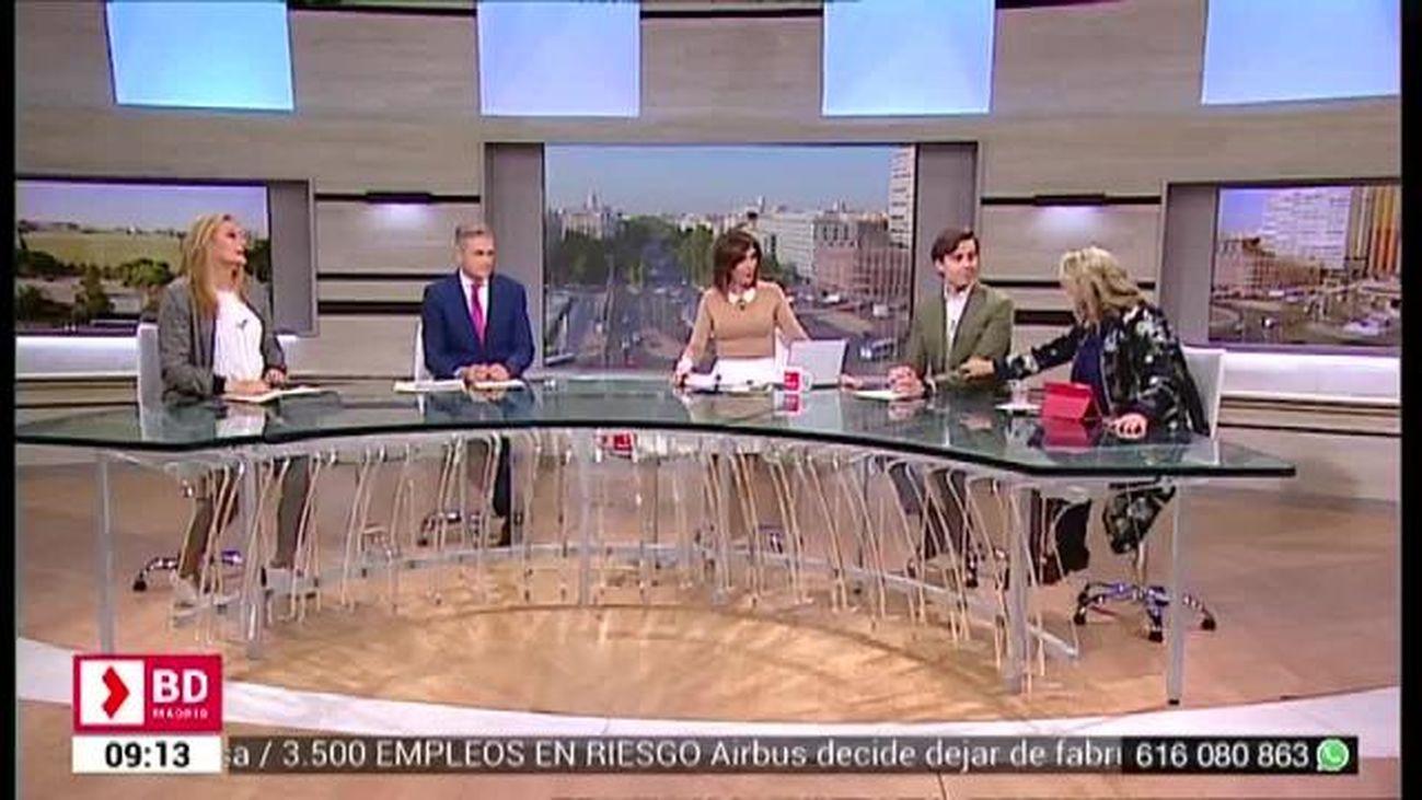 Buenos Días Madrid (8:30 - 10:00) 15.02.2019