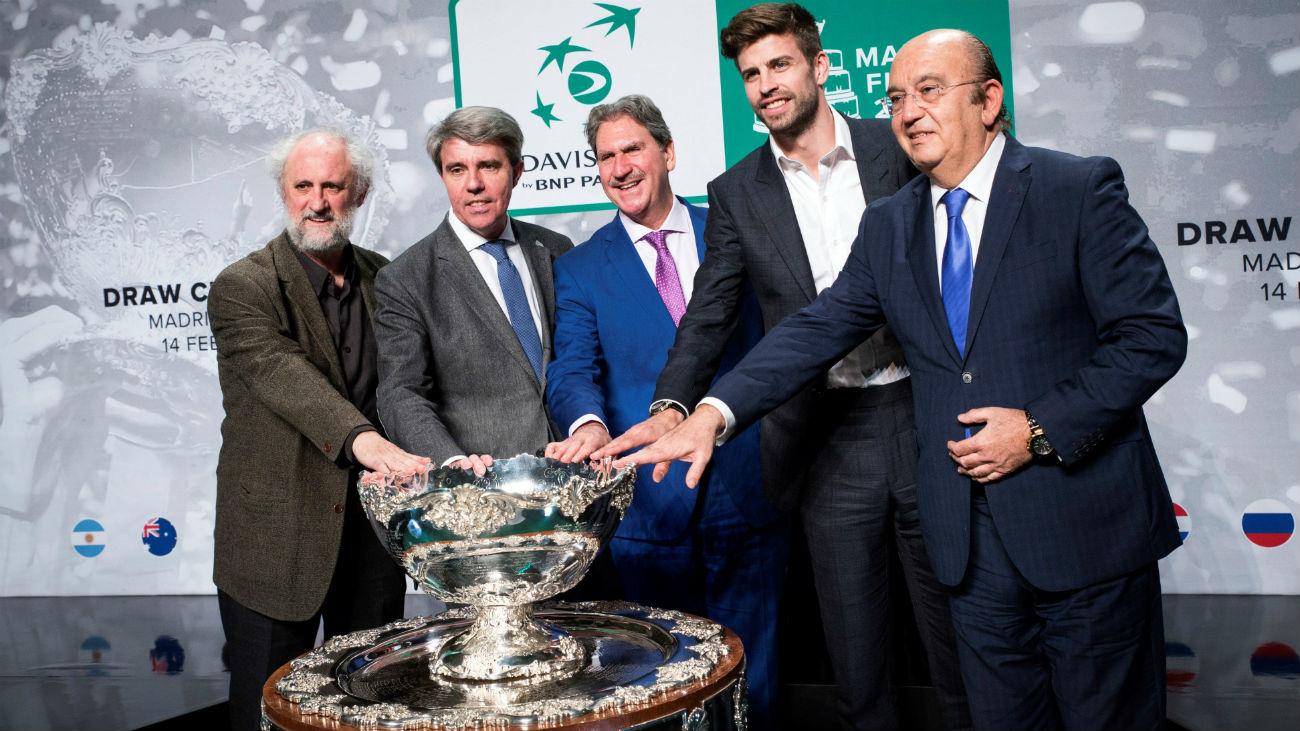 Croacia y Rusia, rivales de España en la 'nueva' Copa Davis