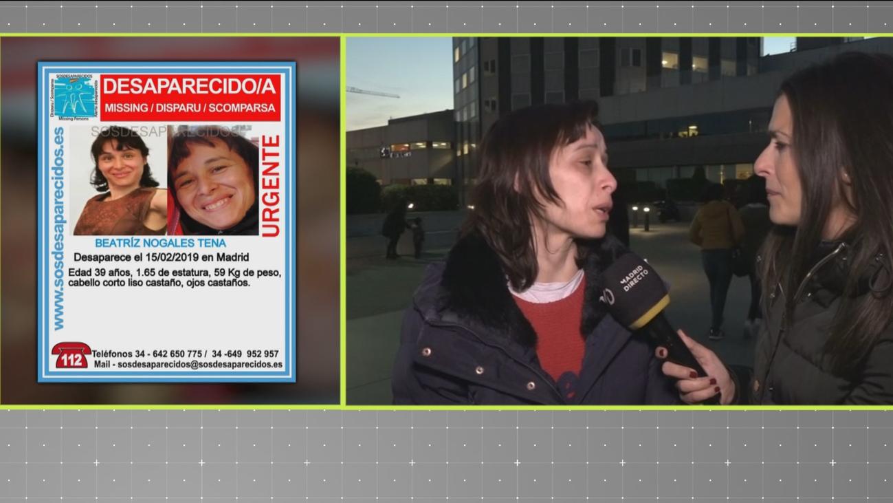 Buscan a Beatriz Nogales, una mujer de 39 años desaparecida en Madrid