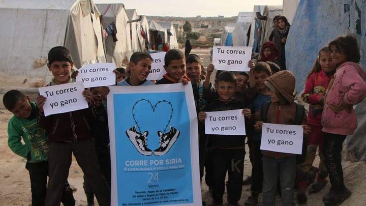 Entrevista a Ramsi Akhdar, sobre la carrera 'Corre por Siria'