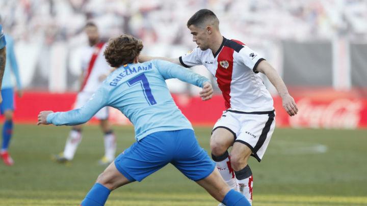 0-1. El Atlético vence con apuros al Rayo