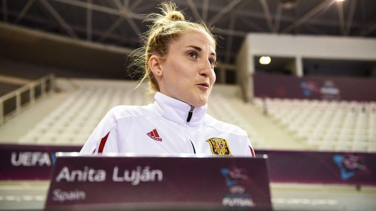 """Anita Luján: """"Ser campeonas de Europa es un sueño hecho realidad"""""""