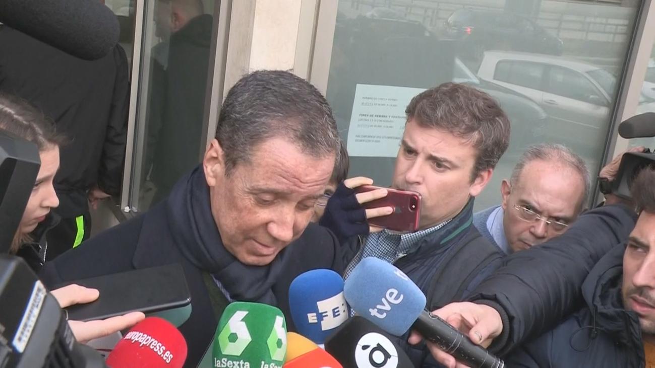 Zaplana niega tener cuentas o bienes fuera de España