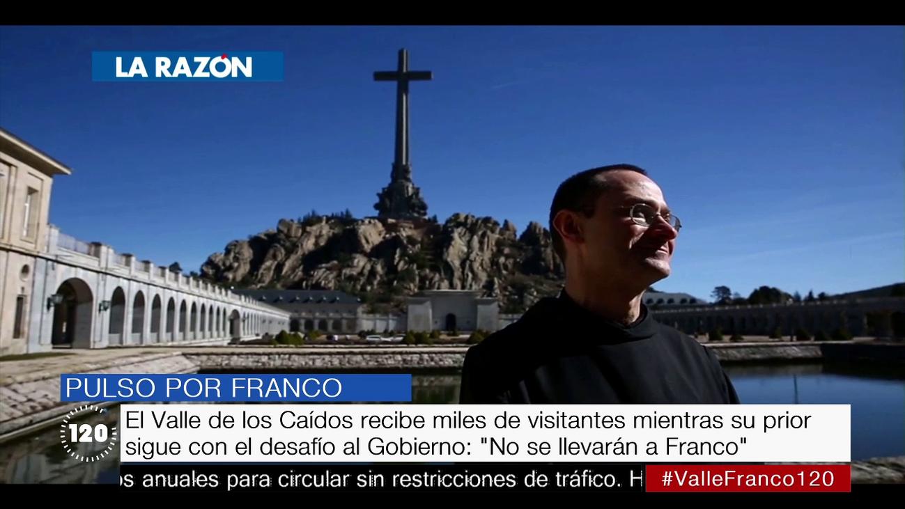 """El prior del Valle dice que el Gobierno no podrá exhumar a Franco porque """"el templo es inviolable"""""""