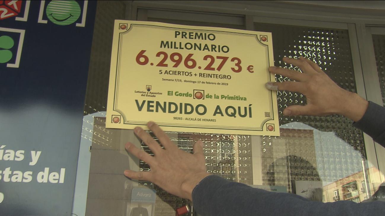 Buscan en Alcalá al ganador de 6 millones de euros en el Gordo de la Primitiva