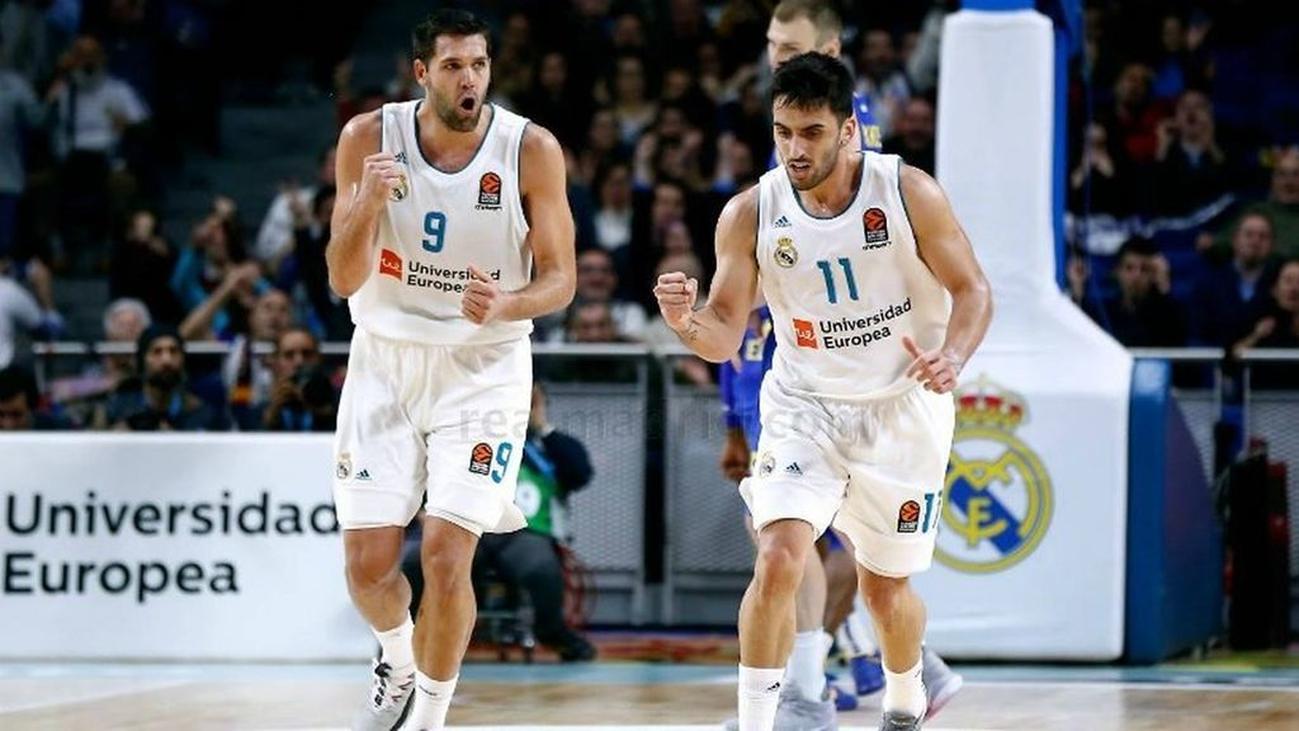 La ACB retira la licencia a Campazzo y Felipe Reyes por insultos