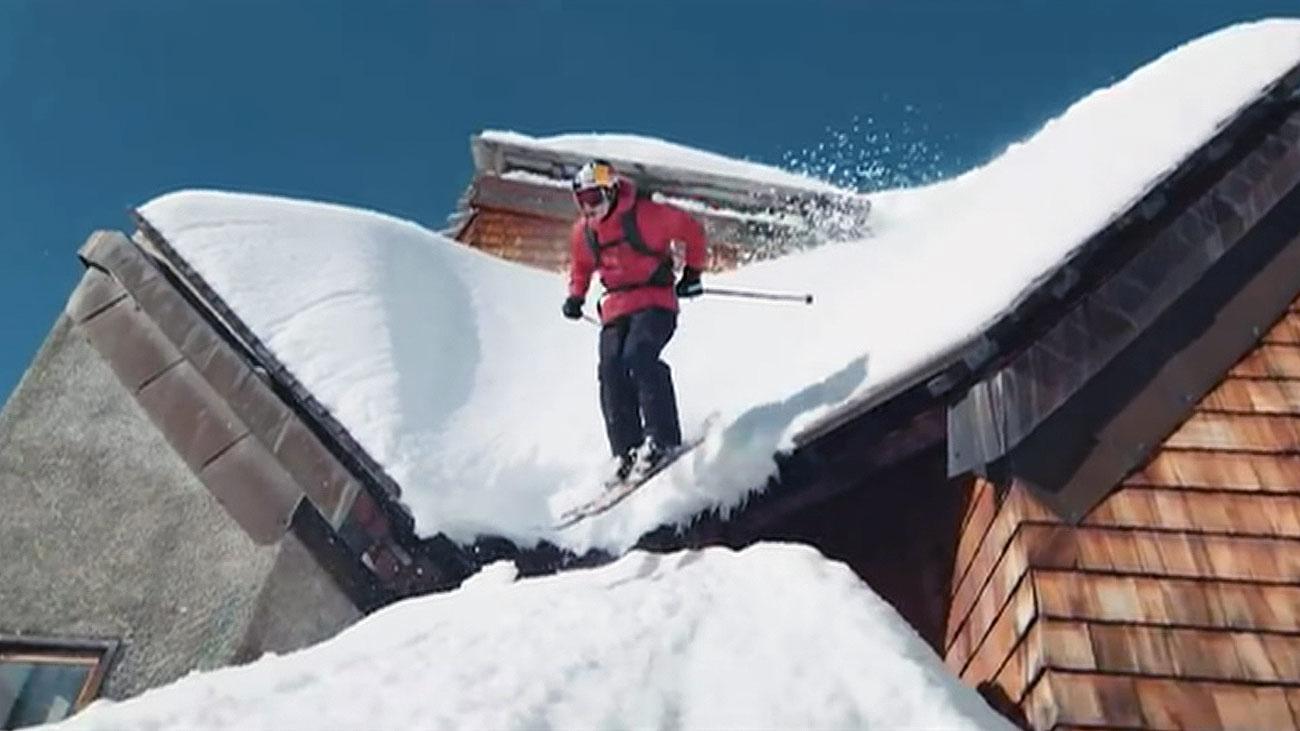 Esquiando a contramano